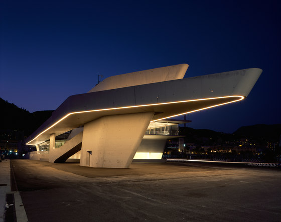 Salerno Maritime Terminal by Zaha Hadid Architects   Infrastructure buildings