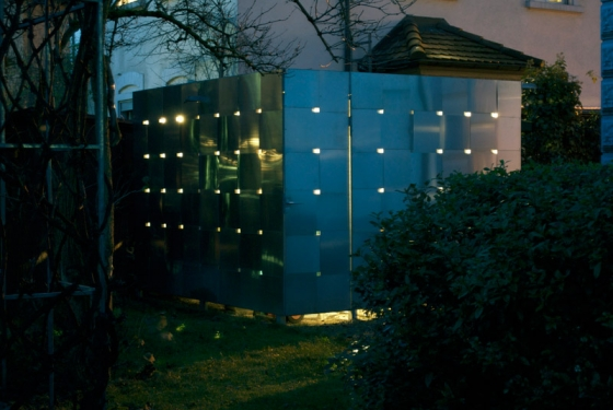 eob.ch,  Art Design Architektur,  Eduard Otto Baumann-Neubau eines Fahrradhauses