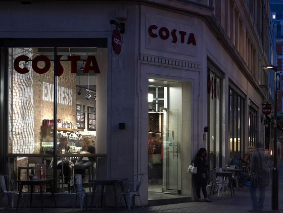 The New 'Metropolitan' Costa by Stiff + Trevillion | Café interiors