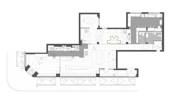 The New 'Metropolitan' Costa von Stiff + Trevillion | Café-Interieurs