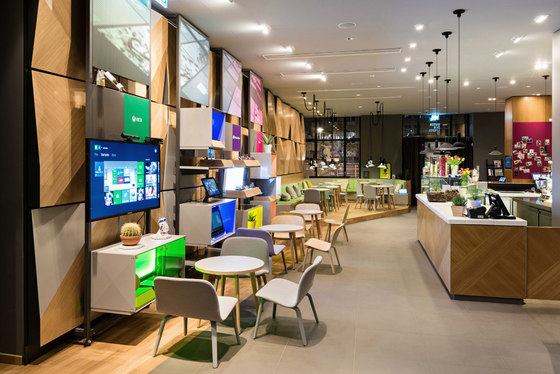 Microsoft Digital Eatery by COORDINATION Berlin | Restaurant interiors