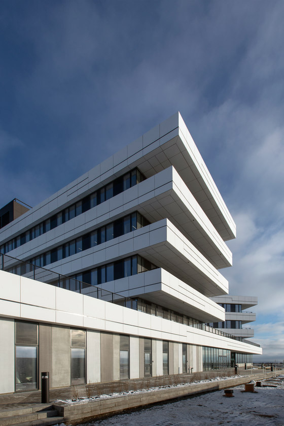Port Centre and HQ, Port of Aarhus by C.F. Møller | Administration buildings
