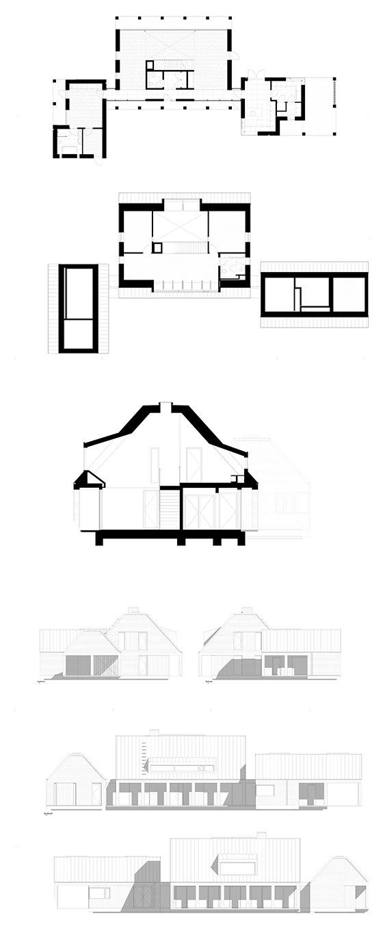 Villa in Zealand by C.F. Møller | Detached houses