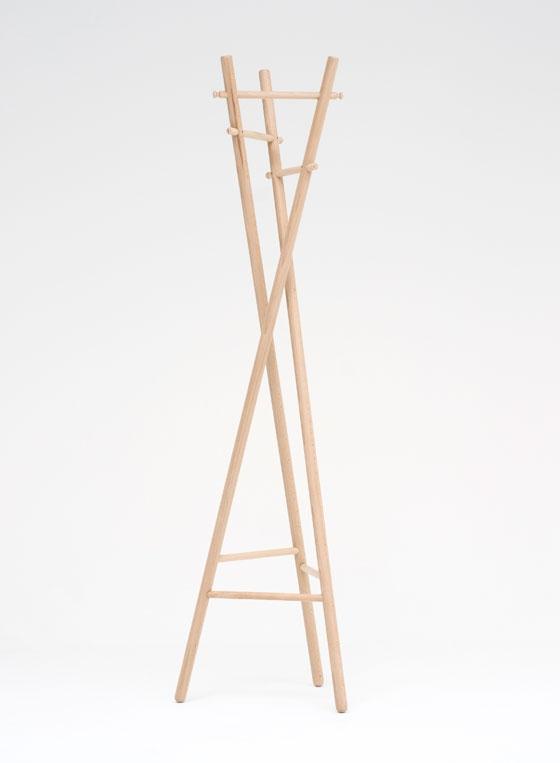 120° Coatstand by Benoît Deneufbourg | Prototypes