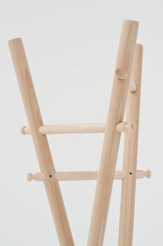 Benoît Deneufbourg designStudio-120° Coatstand