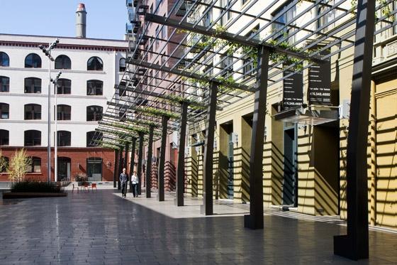 Mint Plaza von CMG landscape architecture   Plätze