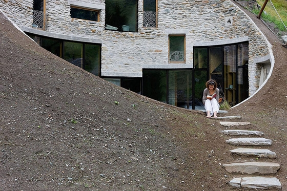 Villa Vals by SeARCH / Bjarne Mastenbroek i.c.w. CMA | Detached houses