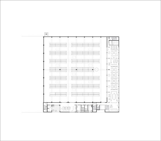 Logistikzentrum Partyrent von Jarosch Architektur | Industriebauten