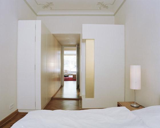 Andreas Anetseder Innenarchitektur + Design-TU München - Appartements für Professoren