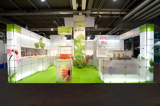 Small Exhibition Stand Near Me : Peterer drogerie ag messestand muba von toussaint