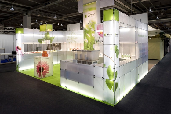 Trade Stands Hoys : Peterer drogerie ag trade fair stand muba by