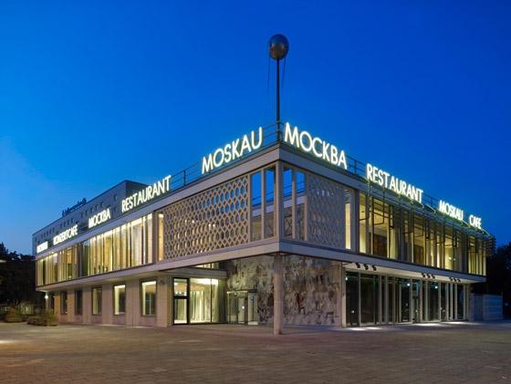 Hoyer Schindele Hirschmüller-Umbau des Café Moskau zum Konferenzzentrum