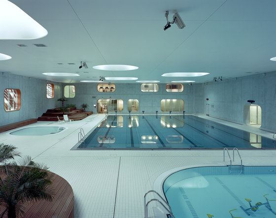 Feng Shui Swimming Pool By Mikou Studio Indoor Swimming Pools