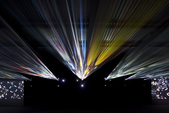 Light Loom (Canon Milano Salone 2011) by TORAFU ARCHITECTS | Installations