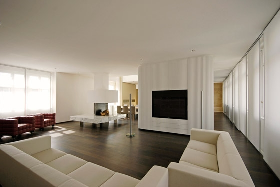 Penthouse Wien 1 by junger_beer architektur | Living space
