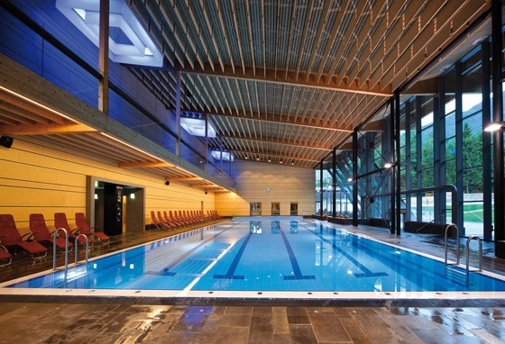 Aquaforum Latsch by dr. arch. Ralf Dejaco | Indoor swimming pools