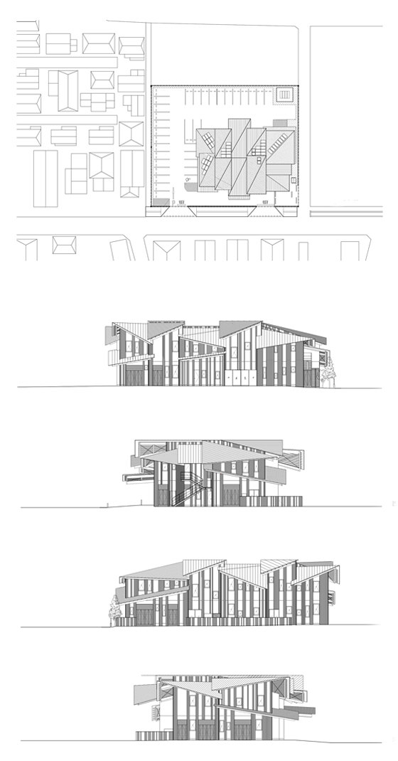 Aitoku Hoikuen by Kengo Kuma | Detached houses