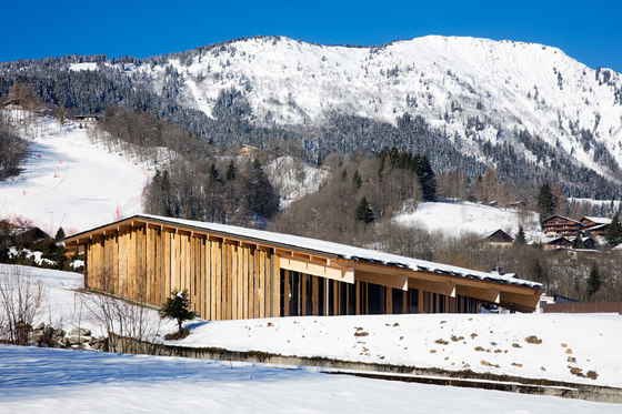 Mont-Blanc Base Camp by Kengo Kuma | Office buildings
