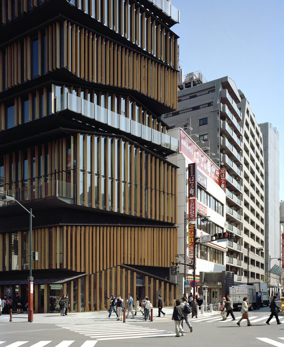 Kengo Kuma & Associates-Asakusa Culture and Tourism Center