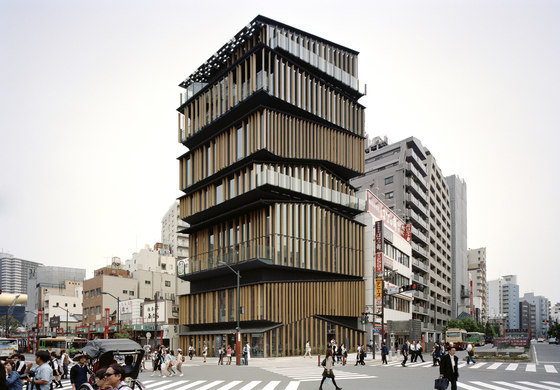 Asakusa Culture and Tourism Center di Kengo Kuma | Edifici amministrativi