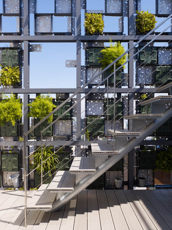Green Cast By Kengo Kuma Office Buildings