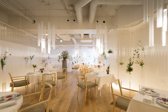 Nacr 233 E By Kengo Kuma Restaurant Interiors