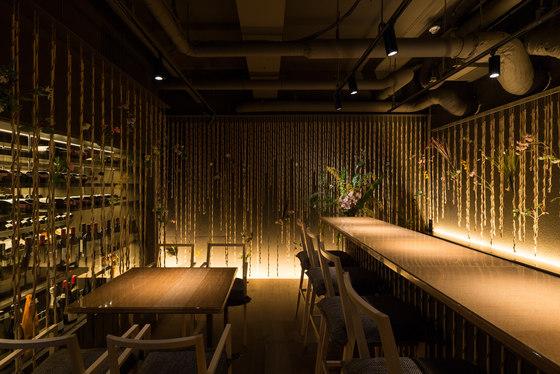 Nacrée by Kengo Kuma   Restaurant interiors