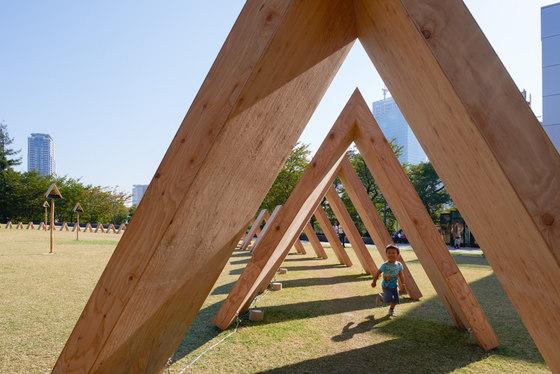 Tsumiki Pavilion by Kengo Kuma | Installations