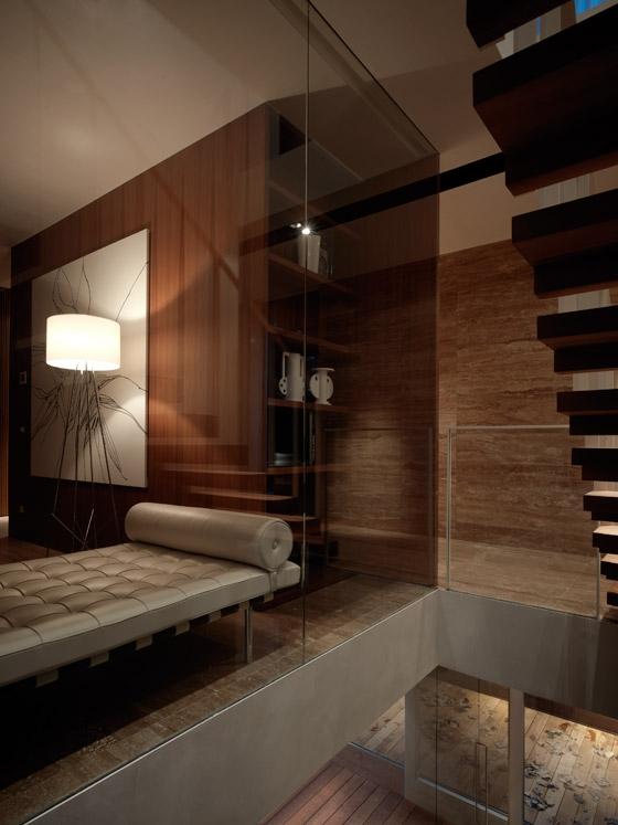 Private Villa von Dordoni Architetti | Einfamilienhäuser