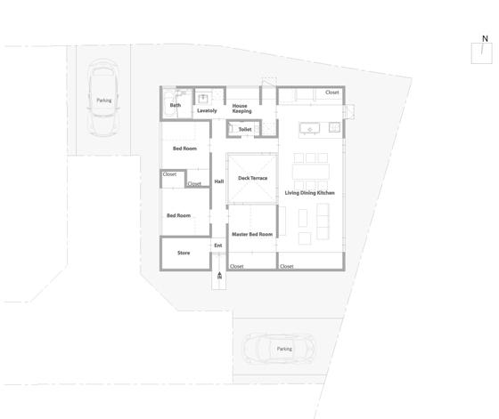 Square Square (Shikaku-i Shikaku) di CAPD | Case unifamiliari