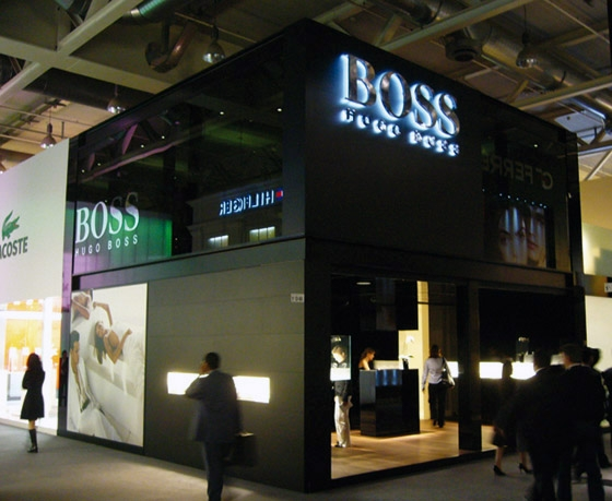 Brandstorm-HUGO BOSS Messestand at Baselworld