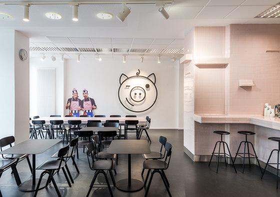 Dandy Diner de studio karhard® | Intérieurs de restaurant