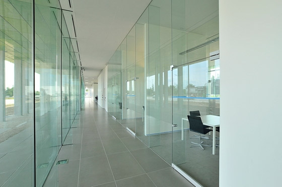Offices Infrax West de Joe Crepain | Immeubles de bureaux