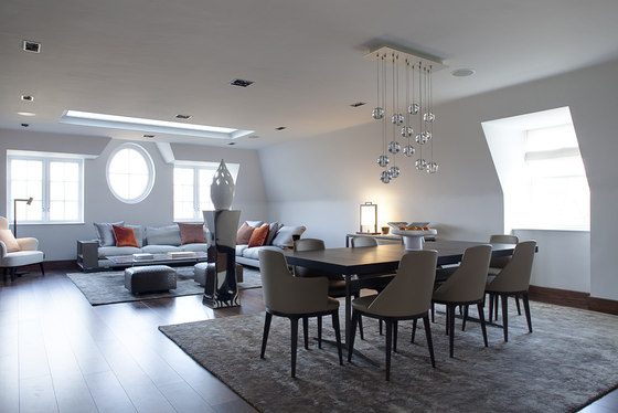 Kensington Penthouse de Staffan Tollgard Design Group | Espacios habitables