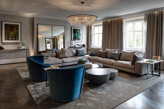 Knightsbridge Penthouse de Tollgard Studio | Pièces d'habitation
