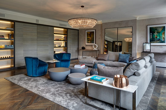 Knightsbridge Penthouse By Staffan Tollgard Design Group Living Space - Notting-hill-house-interior-by-staffan-tollgard-design-group