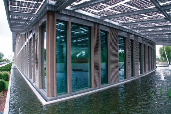 Schulte-Frohlinde Architekten-Corporate Headquarter der Solon SE