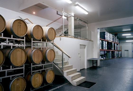 Erich Sattler Winery by Architects Collective | Shops
