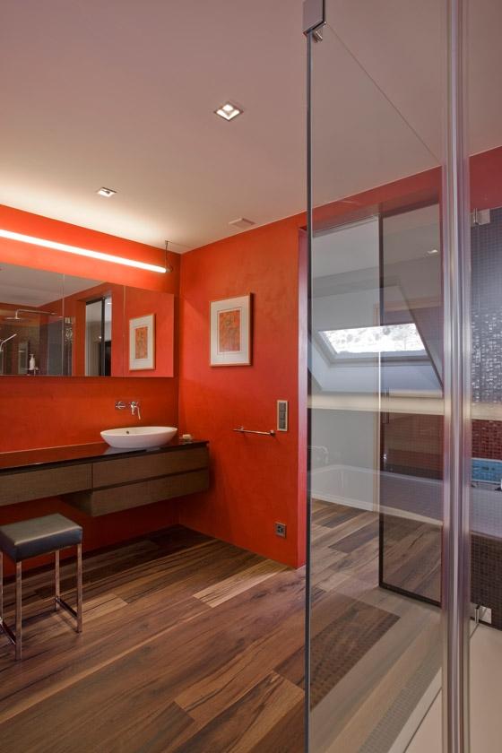 Umbau eines ehemaligen Maison Villageoise im Broye-Tal by arttesa | Living space