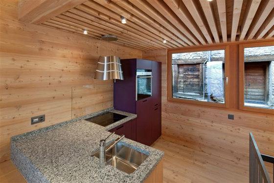 Umbau Raccard in Ferienwohnungen di arttesa | Locali abitativi