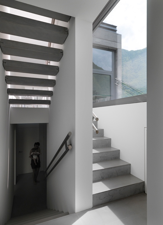 House in Lumino by Davide Macullo Architetto | Detached houses