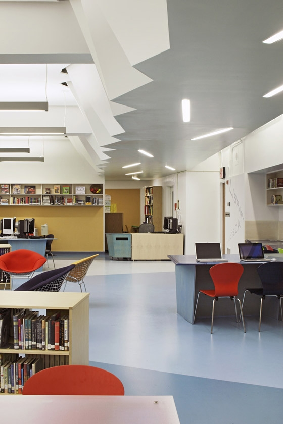 A. E. Smith High School Library di Atelier Pagnamenta Torriani | Musei