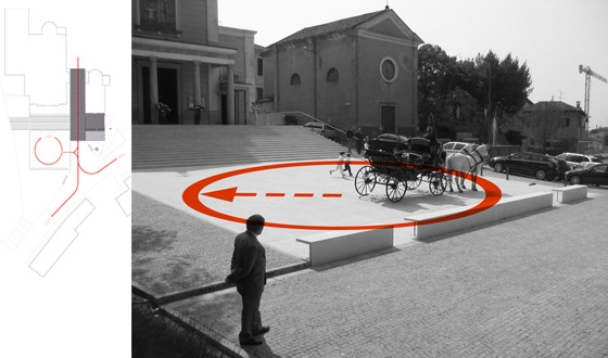 Piazza Nera Piazza Bianca by ifdesign | Public squares