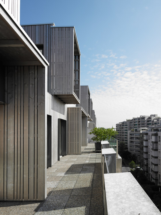 Wood in the sky by group8 | Apartment blocks