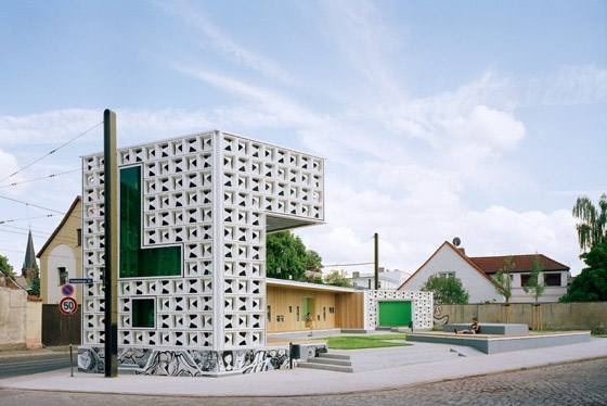 Open-Air-Library Magdeburg by KARO* | Museums