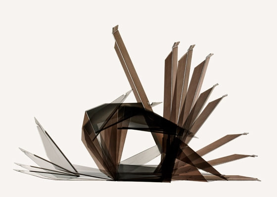 dua-Folded Lounge Chair, Making-of
