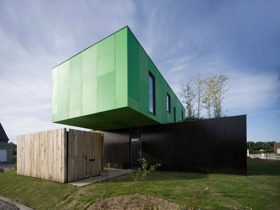 Crossbox by CG Architectes | Detached houses