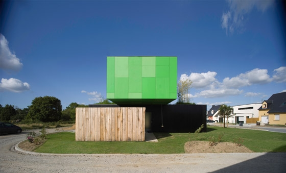 Crossbox de CG Architectes | Casas Unifamiliares