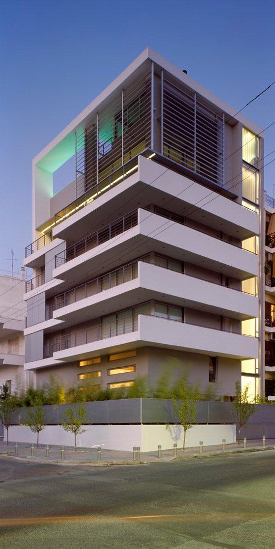 Apartment Building By Mplusm Architects Apartment Blocks