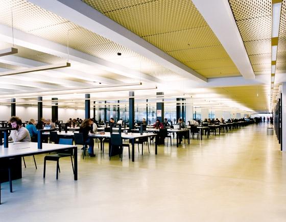 Universit ts und landesbibliothek von eck reiter for Architektur innsbruck
